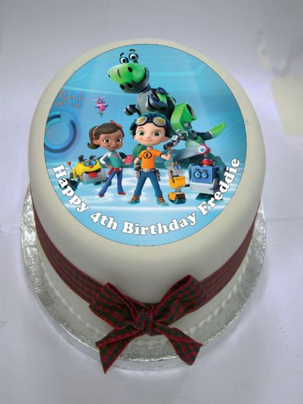 Rusty Rivets Edible Cake Topper